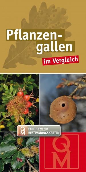 """Bestimmungskarte """"Pflanzengallen"""""""