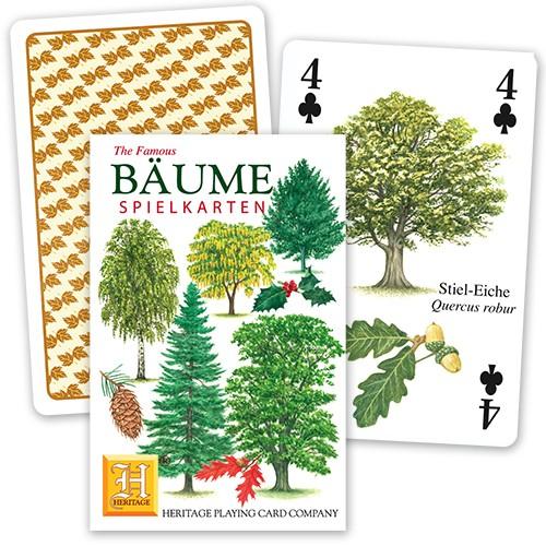 Spielkarten Bäume