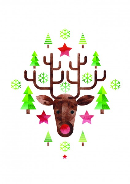SDW-Grußkarten Weihnachten