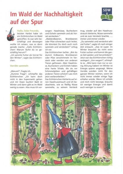 Im Wald der Nachhaltigkeit auf der Spur