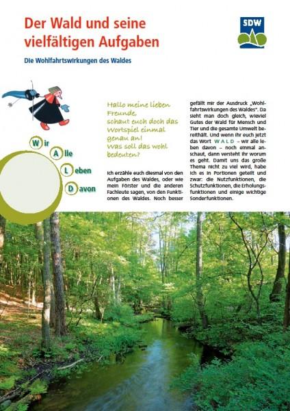 Wald und seine vielfältigen Aufgaben