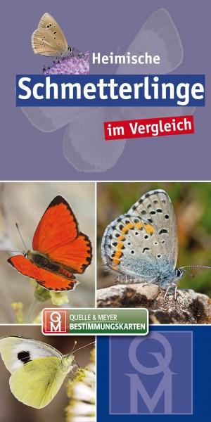 """Bestimmungskarte """"Schmetterlinge"""""""