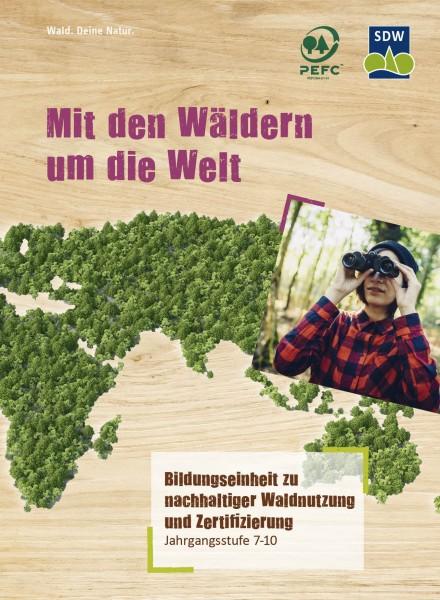 Mit den Wäldern um die Welt - Set mit je einem Länderporträt