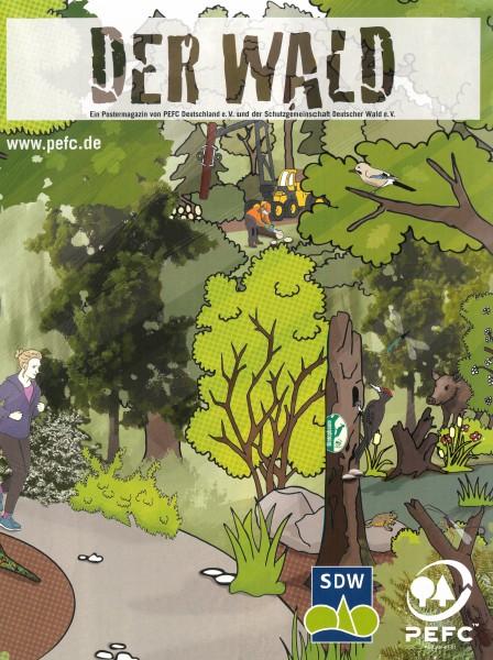 """PEFC Poster """"Der Wald"""""""